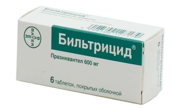 Опісторхоз: симптоми і лікування