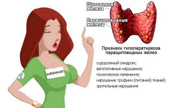 Гіпопаратиреоз: симптоми і лікування